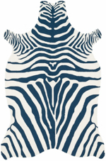 Loloi Zadie ZD-01 Navy / White Closeout Area Rug