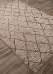 Jaipur Zuri ZUI06 Batten Chateau Gray & Seal Brown Closeout Area Rug