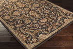 Surya Arabesque ABS-3008 Chocolate/Olive/Sienna Closeout Area Rug - Spring 2015