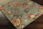 Surya Arabesque ABS-3021 Olive/Charcoal/Rust Closeout Area Rug - Fall 2015