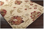 Surya Alfredo AFR-3300 Beige/Gold/Rust Closeout Area Rug