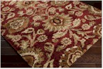 Surya Alfredo AFR-3315 Burgundy/Gold/Beige Closeout Area Rug - Fall 2015