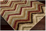 Surya Alfredo AFR-3317 Bronze/Espresso/Turtle Green Closeout Area Rug - Fall 2014