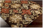 Surya Alfredo AFR-3329 Dark Brown/Bronze/Carnelian Closeout Area Rug - Fall 2014