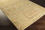 Surya Ainsley AIN-1011 Gold/Rust/Sea Foam Closeout Area Rug - Fall 2015
