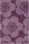 Surya Aimee Wilder AIW-4000 Rosy Mauve/Raspberry Wine Closeout Area Rug - Fall 2013