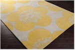 Surya Aimee Wilder AIW-4004 Yellow/Quince/Icicle Closeout Area Rug - Fall 2013