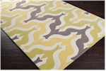 Surya Aimee Wilder AIW-4007 Lemon/Lime/Light Grey/Ivory Closeout Area Rug - Spring 2015