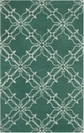 Surya Aimee Wilder AIW-4008 Emerald Green/Winter White Closeout Area Rug - Fall 2014