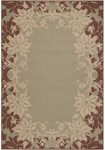 Surya Alfresco ALF-9575 Dusky Green/Camel/Russet Closeout Area Rug - Fall 2012
