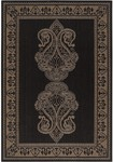Surya Alfresco ALF-9582 Coal Black/Dark Khaki Closeout Area Rug - Fall 2012
