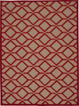Nourison Aloha ALH03 RED Red Area Rug