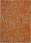 Nourison Aloha ALH04 ORG Orange Area Rug