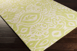 Surya Kate Spain Alhambra ALH-5002 Lime/Cream Closeout Area Rug - Spring 2015