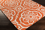 Surya Kate Spain Alhambra ALH-5012 Poppy/Ivory Closeout Area Rug - Fall 2015