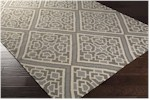 Surya Beth Lacefield Alameda AMD-1008 Light Grey/Light Grey/Ivory Closeout Area Rug - Fall 2015