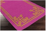 Surya Beth Lacefield Alameda AMD-1014 Magenta/Burnt Orange/Grey Closeout Area Rug - Fall 2015