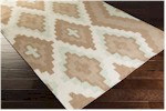 Surya Beth Lacefield Alameda AMD-1035 Taupe/Sea Foam/Light Gray Closeout Area Rug - Spring 2015