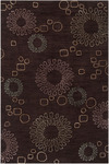 Surya Amelia AME-2202 Dark Brown/Moth Beige/Slate Grey Closeout Area Rug - Spring 2013