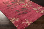 Surya Amelia AME-2233 Burgundy/Chocolate/Olive Closeout Area Rug - Fall 2015