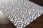 Surya Amelia AME-2241 Light Grey/Navy Closeout Area Rug - Fall 2015