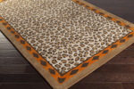 Surya Florence de Dampierre Amour AMR-8001 Chocolate/Burnt Orange Closeout Area Rug - Spring 2015