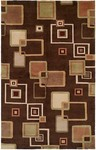 HRI Tibetan AR-364 Brown Closeout Area Rug