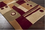 Surya Artist Studio ART-87 Burgundy Closeout Area Rug - Fall 2011