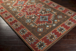 Surya Arizona ARZ-1004 Chocolate/Rust/Slate Area Rug