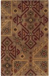 Surya Arizona ARZ-1007 Mocha/Rust/Burnt Orange Closeout Area Rug - Fall 2014