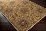 Surya Aurora AUR-1018 Dark Beige/Coffee Bean/Dark Brown Closeout Area Rug - Fall 2013