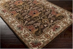 Surya Aurora AUR-1031 Coffee Bean/Desert Sand/Golden Brown Area Rug