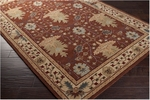 Surya Aurora AUR-1041 Russet/Bronze/Tea Leaves Closeout Area Rug - Fall 2013