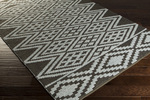 Surya Aztec AZT-3004 Ash Grey/Charcoal Closeout Area Rug - Spring 2015