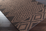 Surya Aztec AZT-3007 Chocolate/Mocha Closeout Area Rug - Spring 2015