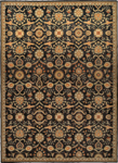 Kathy Ireland Home Ancient Times BAB01 BLK Persepolis Black Closeout Area Rug