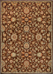 Kathy Ireland Home Ancient Times BAB05 BRN Judah Brown Closeout Area Rug