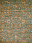 Kathy Ireland Home Ancient Times BAB05 TL Judah Teal Closeout Area Rug