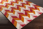 Surya Peter Som Bali BAL-1931 Beige/Burnt Orange/Pastel Pink Closeout Area Rug - Spring 2015