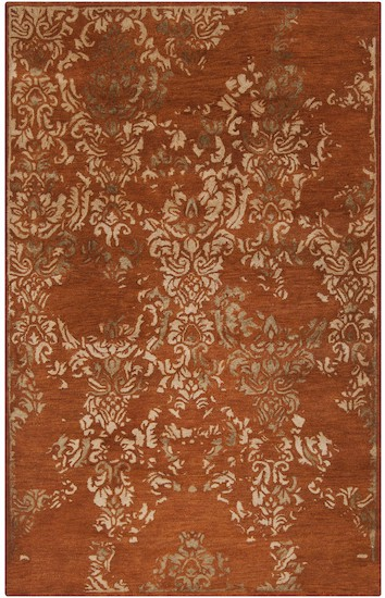 Surya Banshee Ban 3332 Rust Red Wheat Mossy Gold Closeout