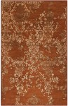 Surya Banshee BAN-3332 Rust Red/Wheat/Mossy Gold Closeout Area Rug - Spring 2014