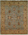 Designer Series DS4808 Blue & Chocolate Oushak Rug