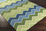 Surya Blox BLX-9001 Forest/Teal/Ivory Closeout Area Rug - Fall 2015