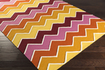 Surya Blox BLX-9002 Gold/Magenta/Burnt Orange/Ivory Closeout Area Rug - Fall 2015