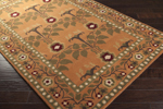 Surya Bungalow BNG-5016 Copper Penny/Golden Ochre/Dark Olive Green Closeout Area Rug - Fall 2014