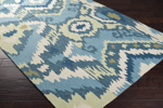 Surya Brentwood BNT-7678 Cameo Blue/Teal Blue/Antique White Closeout Area Rug