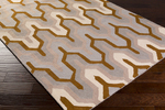 Surya Brentwood BNT-7702 Light Grey/Mocha/Beige Closeout Area Rug - Fall 2015