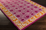 Surya Florence de Dampierre Bordeaux BRD-6004 Plum/Burnt Orange/Beige Closeout Area Rug - Spring 2015