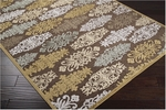 Surya Basilica BSL-7132 Brown/Gold Closeout Area Rug - Spring 2012