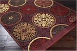 Surya Basilica BSL-7135 Chocolate/Brown Closeout Area Rug - Fall 2011